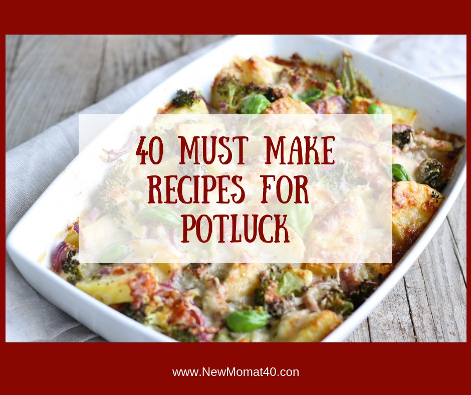 40 Must Make Recipes For Christmas Potluck